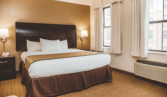 Chicago South Loop Hotel Traditional King